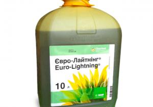 Гербіцид для соняшника Basf Євро-Лайтнінг, РК 10 л