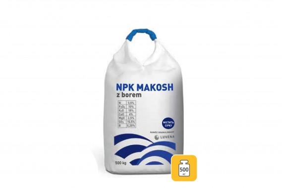 NPK з бором B(0,2%), 500 кг