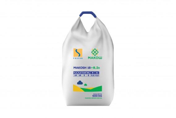 Makosh 18+, B (0,2%), Zn (0,2%), 500 кг