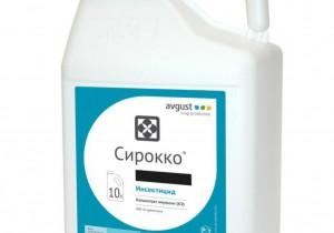 Системний інсектицид та акарицид Avgust Сірокко, КЕ 5 л