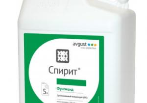 Двокомпонентний фунгіцид Avgust Спірит, СК 5 л