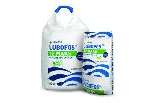 LUBOFOS 12 MAKS P(12%), K(25%), Ca(2%), Mg(2,5%), S(6%)