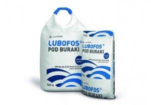 LUBOFOS під буряк N(3,5%), P(10%), K(21%), Ca(2%), Na(2%), S(14,5%), B(0,2%)