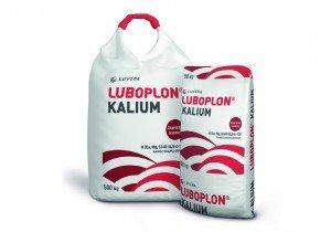LUBOPLON калій K(40%), Ca(7,5%), Mg(4%), S(13%)